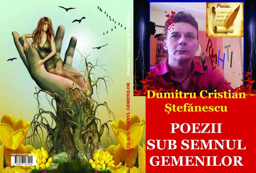 Poezii sub semnul gemenilor. Versuri de Dumitru Cristian Ștefănescu